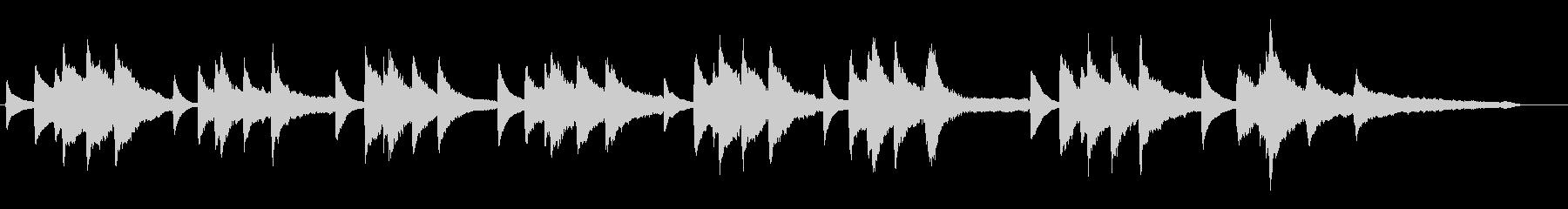 CMでよく聴くショパンの前奏曲第7番の未再生の波形
