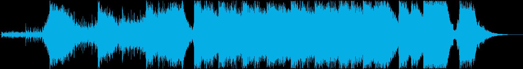 アクションハイブリッドトレイラー2の再生済みの波形