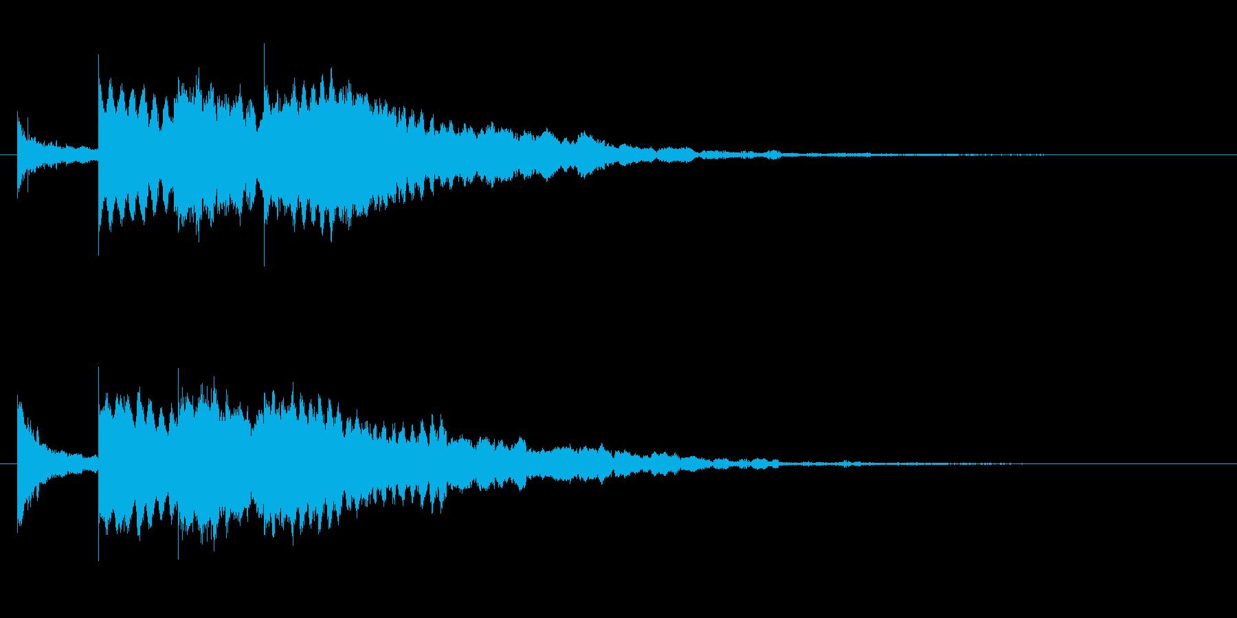 お知らせ グロッケンシュピールクレ...の再生済みの波形