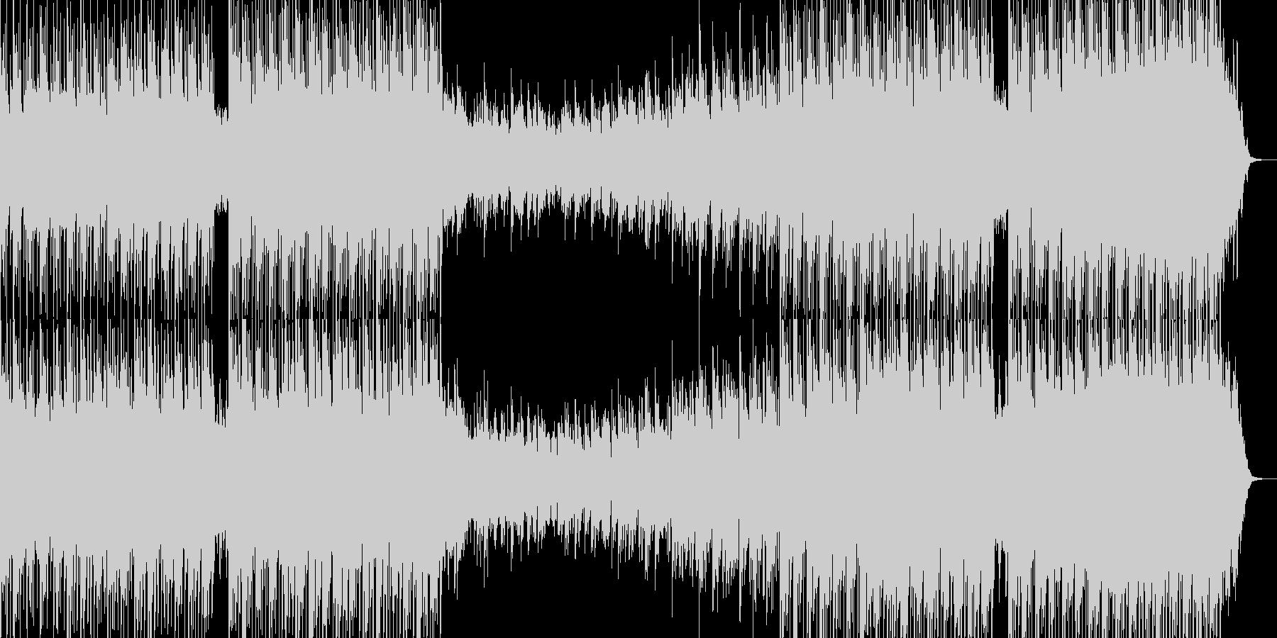 映像、リラックス音楽ーRed lotusの未再生の波形