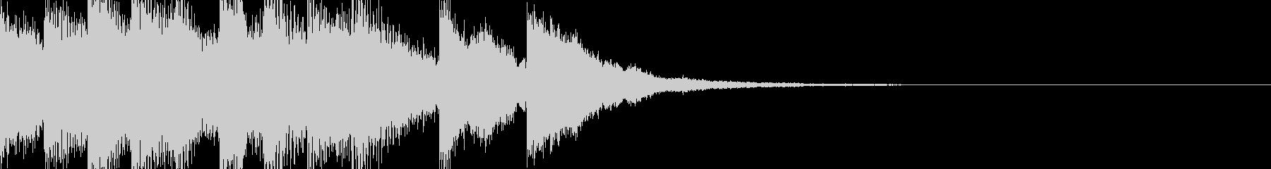合格音の未再生の波形