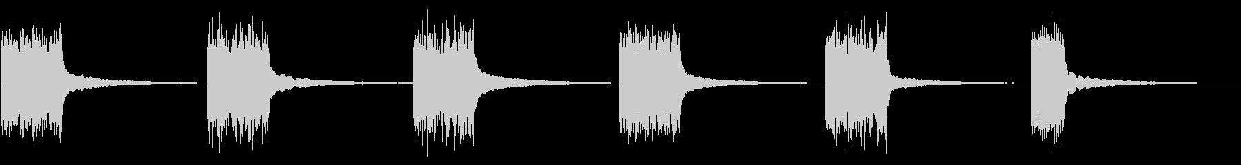 1950ロータリー電話:ベルリンギ...の未再生の波形