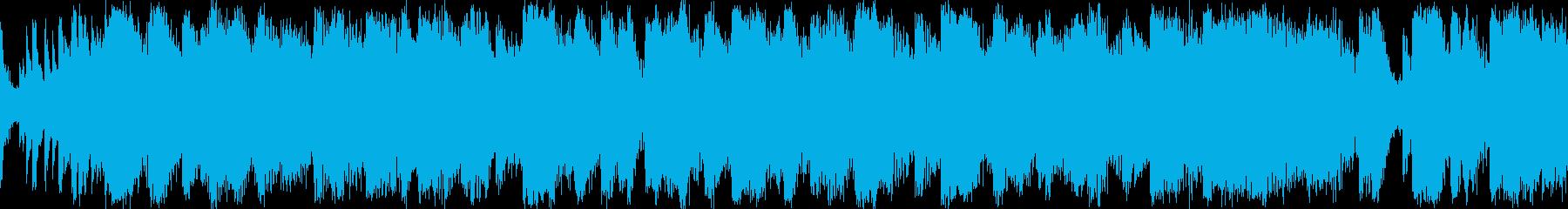 カジノマシンでプレイ中の演出音楽の再生済みの波形