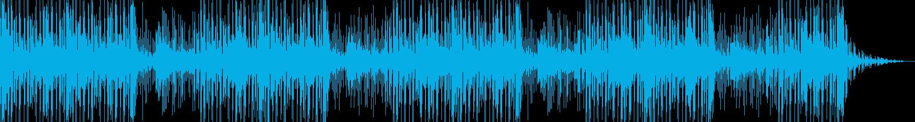 尺八なしの再生済みの波形