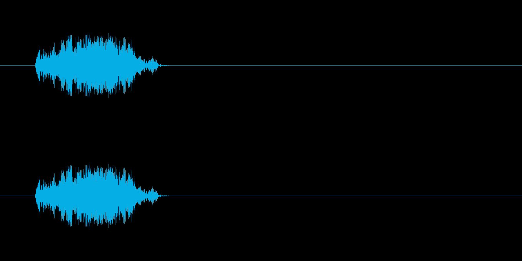 【斬る02-1】の再生済みの波形