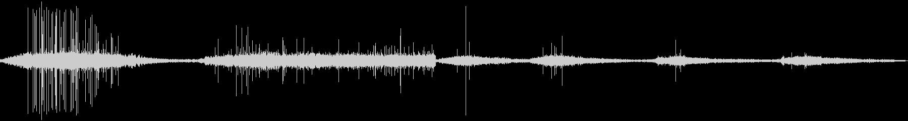 プロジェクターリワインダー各種の未再生の波形