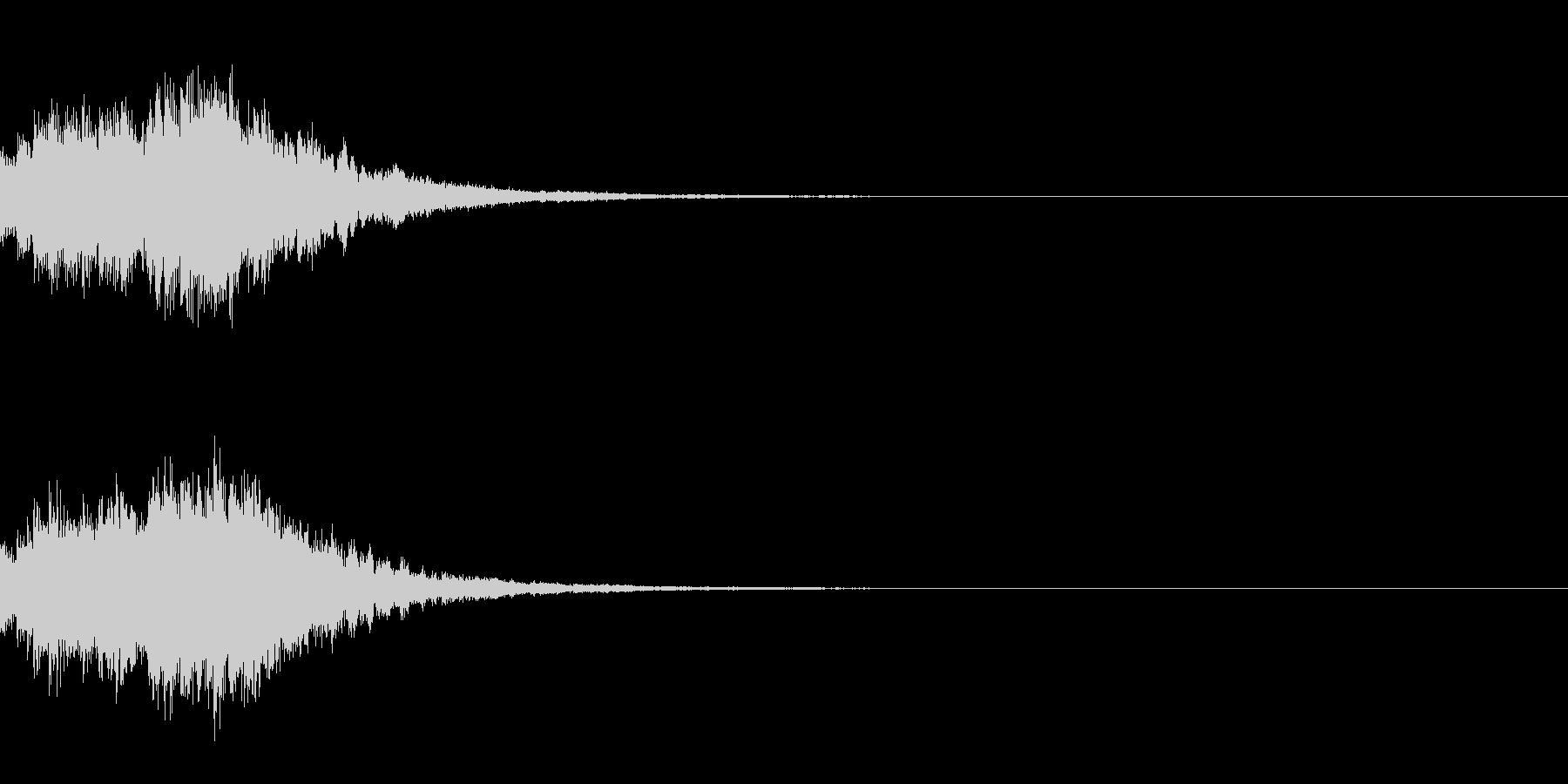 システム起動音_その10の未再生の波形