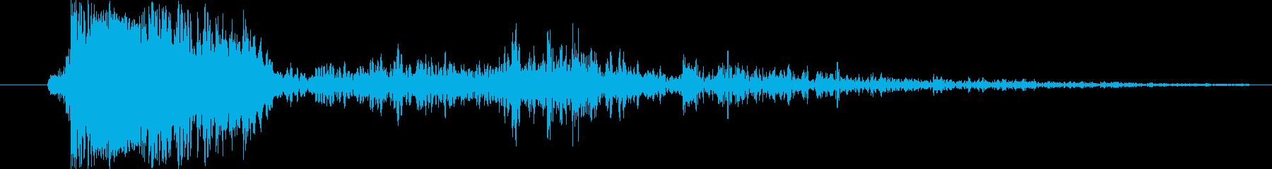 RPG ショットクローズ01の再生済みの波形