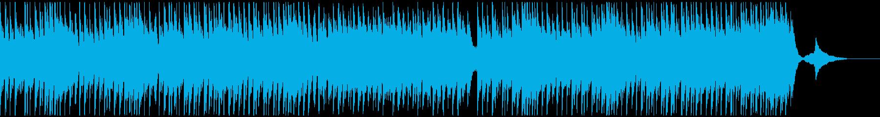 メルヘン、ファンタジックでかわいいBGMの再生済みの波形
