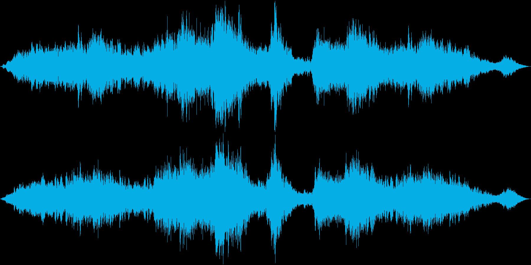 ドローン 少しくすくす01の再生済みの波形