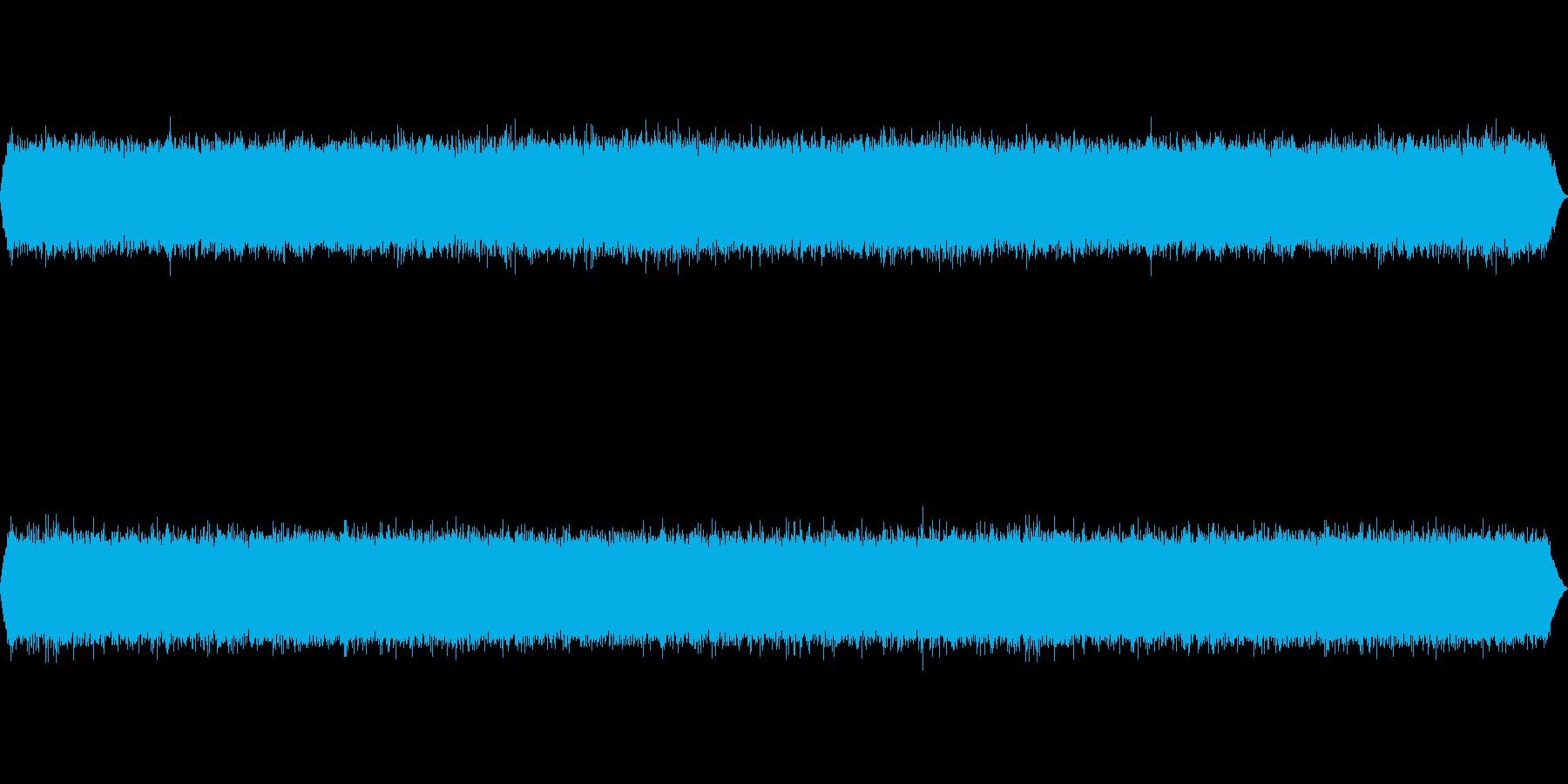 滝音~袋田の滝 夏(薄くセミ)【生録音】の再生済みの波形