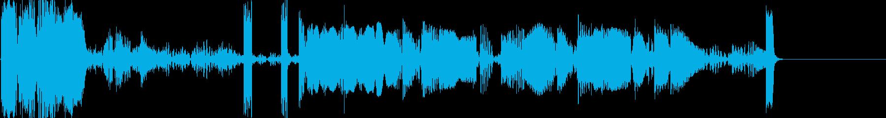ビッグドロップスの再生済みの波形