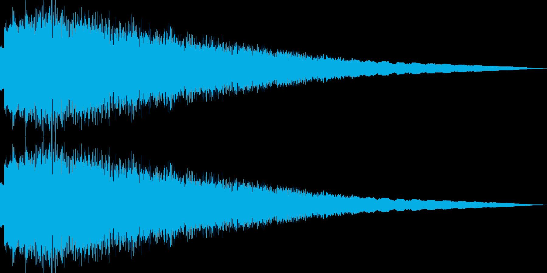 ピューン(ピコピコ/ワープ/異次元/移動の再生済みの波形
