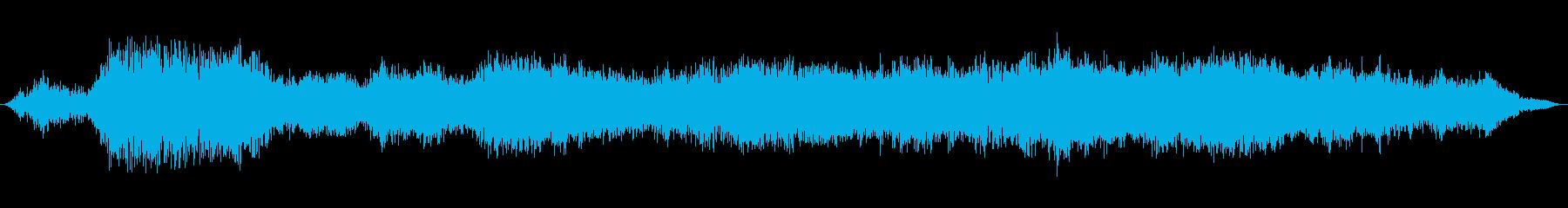 未設定の精神的な声の再生済みの波形