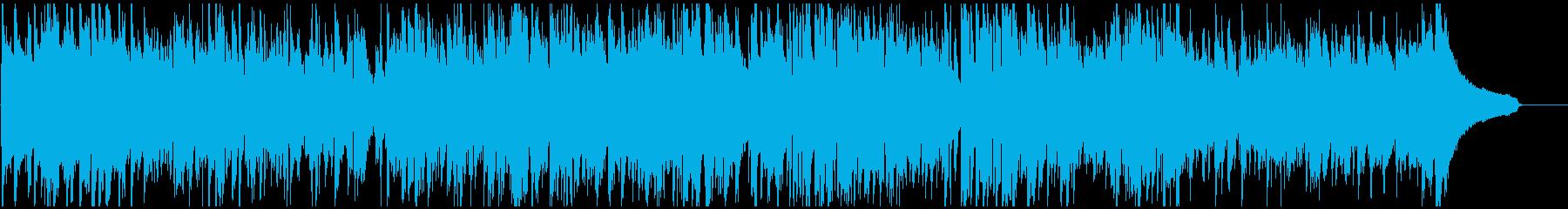 鬼気迫るシリアスな絶体絶命系ジャズの再生済みの波形