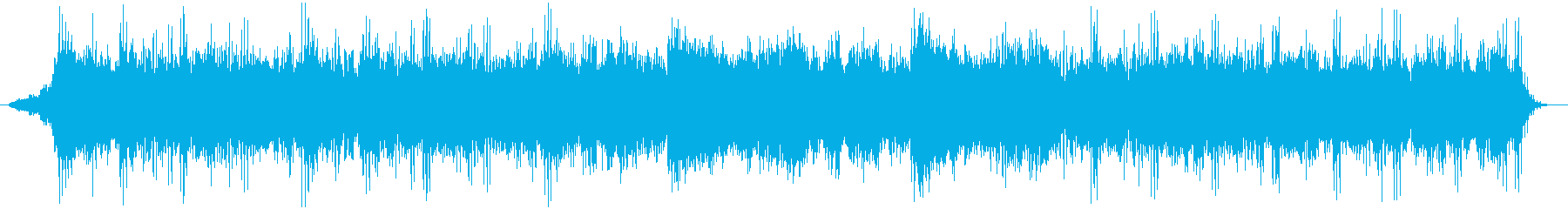 シリアスな雰囲気漂うアンビエント系BGMの再生済みの波形