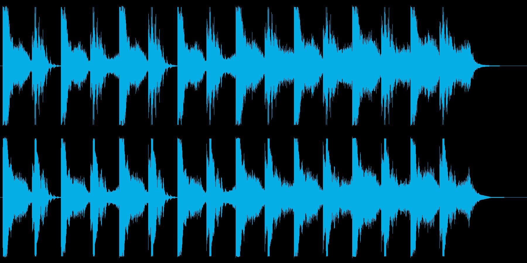 緊張感漂うホラーなアンビエントの再生済みの波形