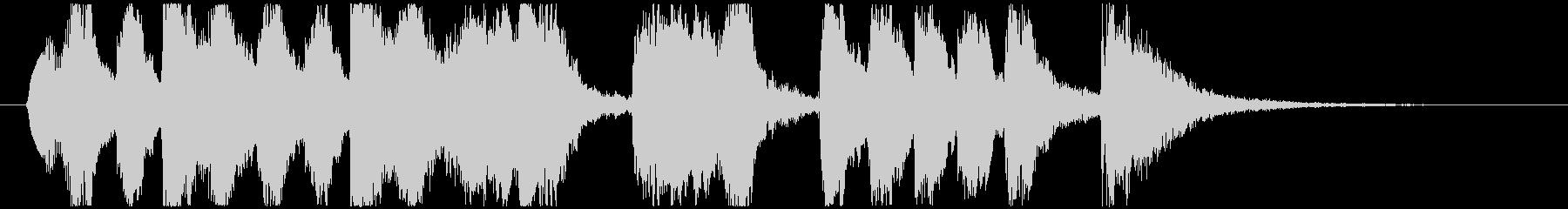 CM 変なファンファーレ No2の未再生の波形