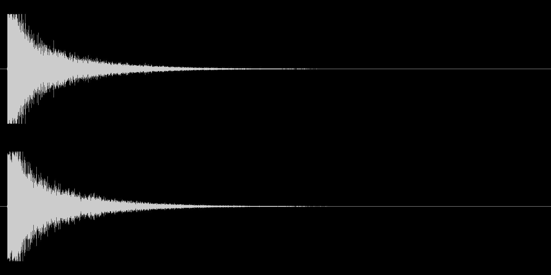 レーザー音-08-1の未再生の波形