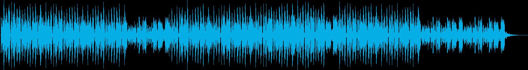 うねりのあるシンセベースが癖になるテクノの再生済みの波形