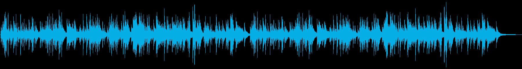 やさしい 少し切ない曲調のピアノソロの再生済みの波形