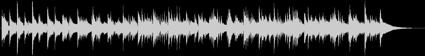 ピアノのカントリーバラードの未再生の波形