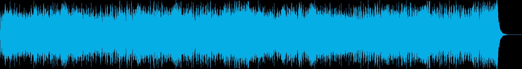 駆け抜けるケルティックの再生済みの波形