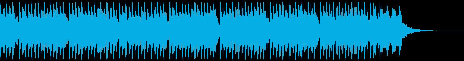 夏のパーティーダンス(ショート2)の再生済みの波形