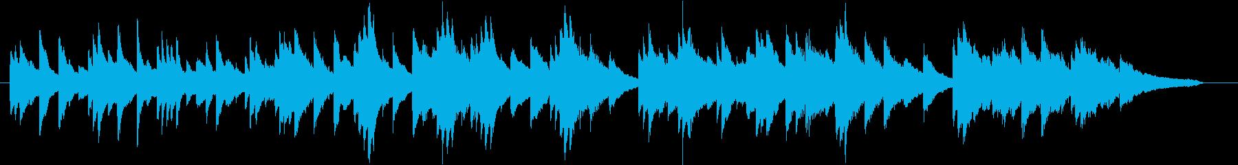 結婚式BGM_ブーケ01の再生済みの波形
