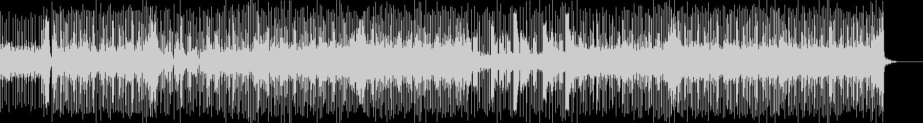 力強く切ないメロディが印象的な曲の未再生の波形