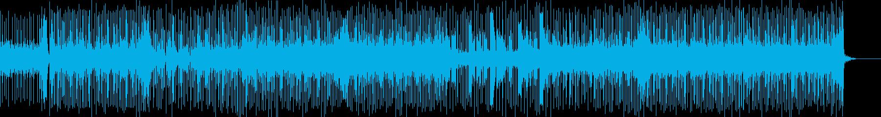 力強く切ないメロディが印象的な曲の再生済みの波形