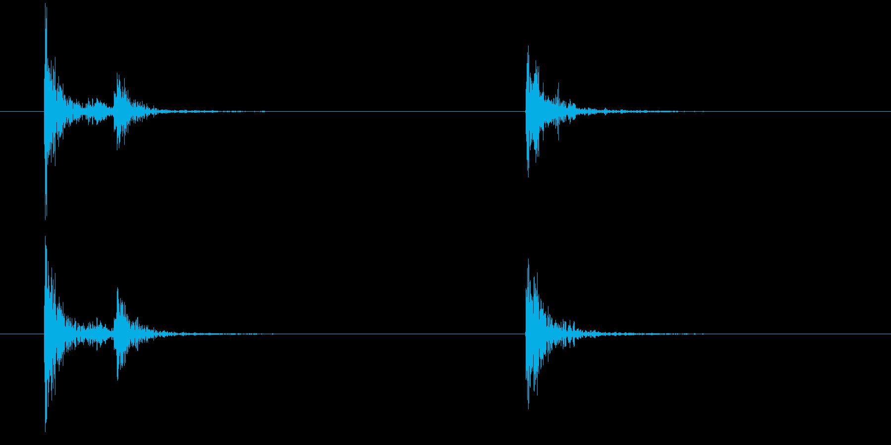 POLICE HAND RADIO...の再生済みの波形