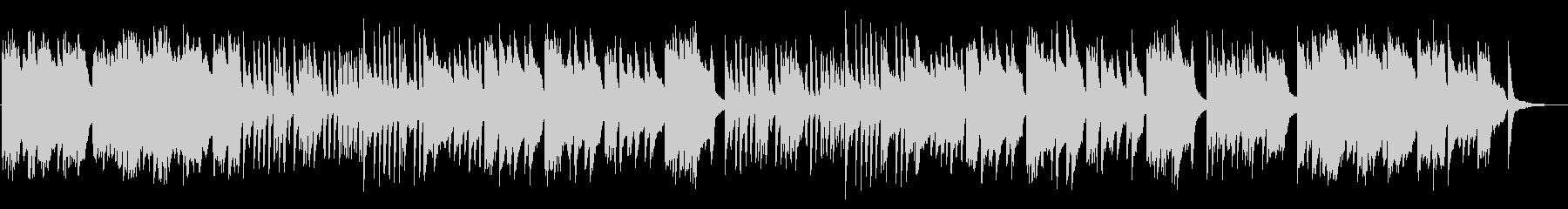 きらきらとしたフレーズ多めの3拍子の曲の未再生の波形