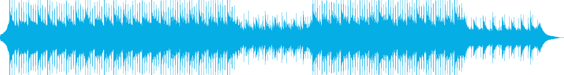 Company BGM with a good and clean image's reproduced waveform