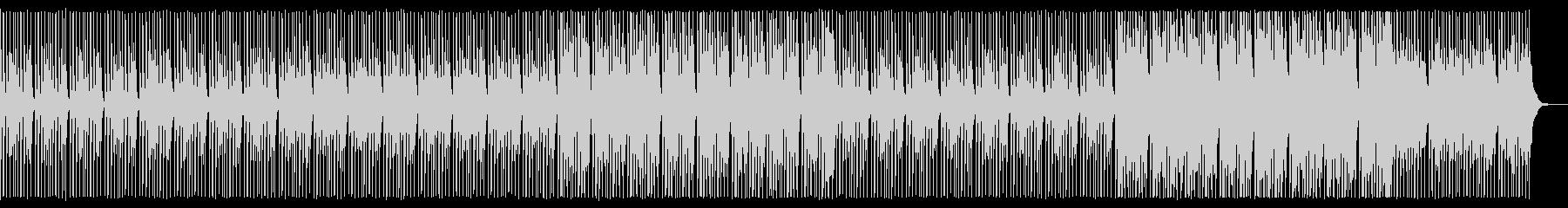 ニュース原稿読みBGM。ハウス/4つ打ちの未再生の波形