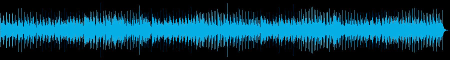 けだるさ感漂うポップボサノバの再生済みの波形