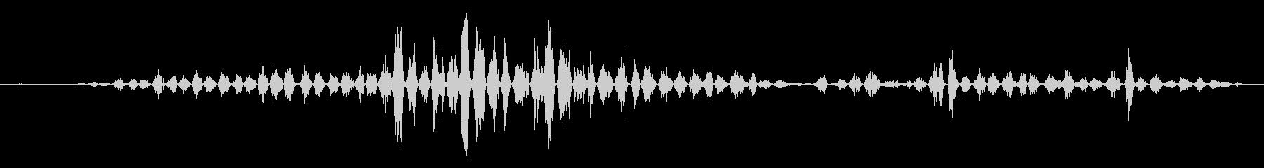 ヘビー、高速パンティング、エキサイ...の未再生の波形
