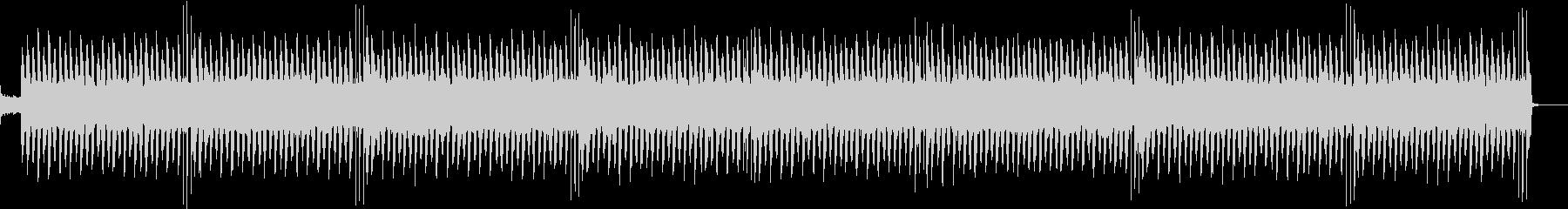 軽快なシンセサウンドのエレクトロポップ曲の未再生の波形