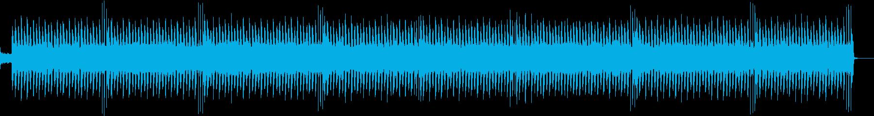 軽快なシンセサウンドのエレクトロポップ曲の再生済みの波形