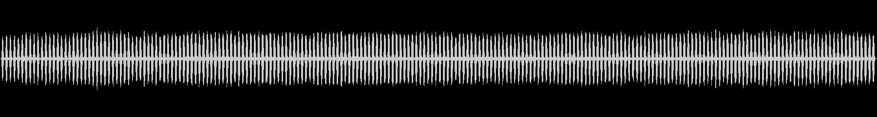 スチームホースヒス、リズミカルチャギングの未再生の波形