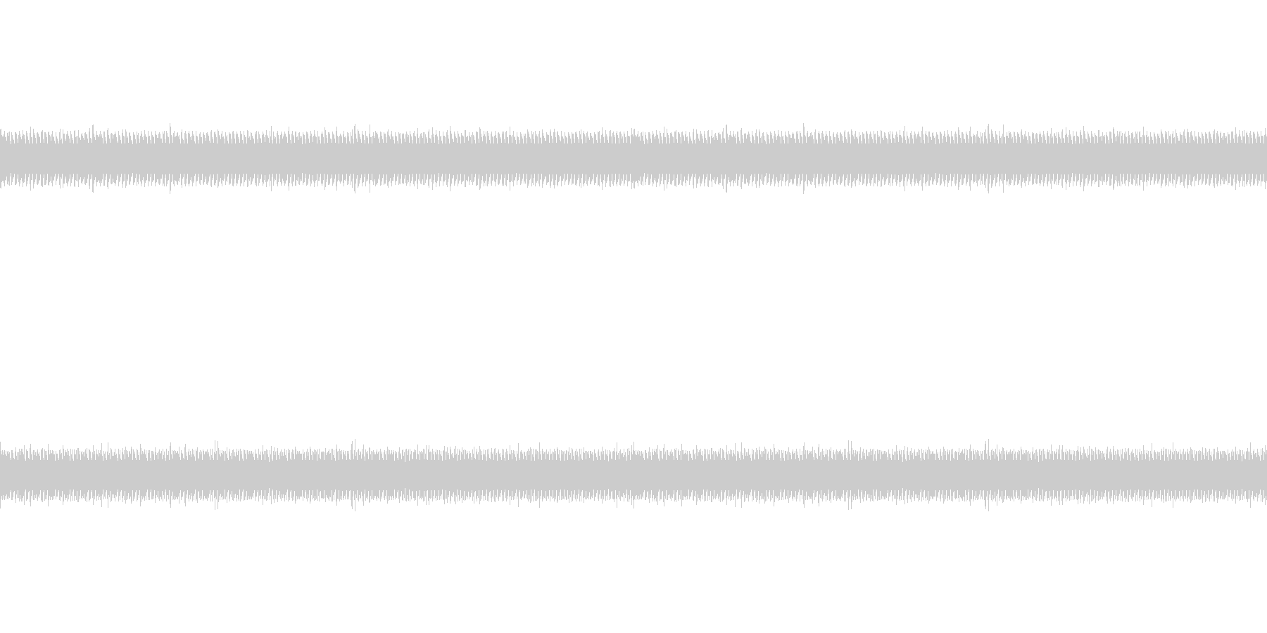 ASMR 音フェチApp用 ノイズ 6の未再生の波形