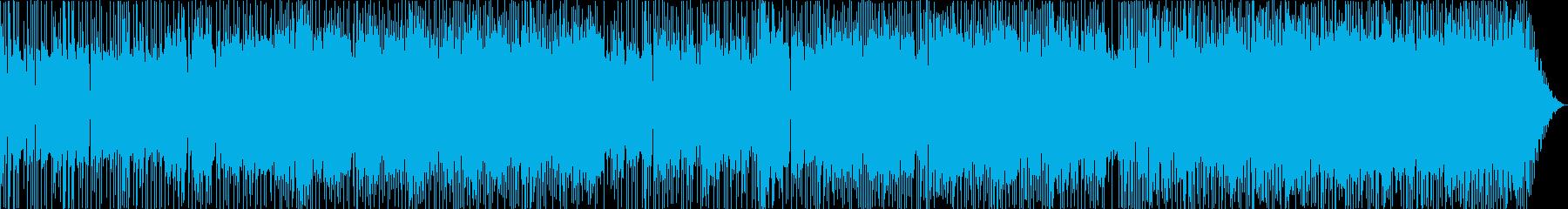 英詞60年代UKクラシックロック風の再生済みの波形