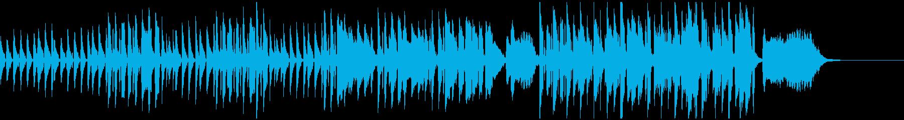 ウクレレとフルート、ほのぼのかわいい童謡の再生済みの波形