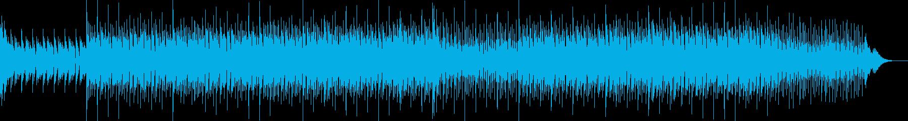 ニュース映像ナレーションバック向け-18の再生済みの波形