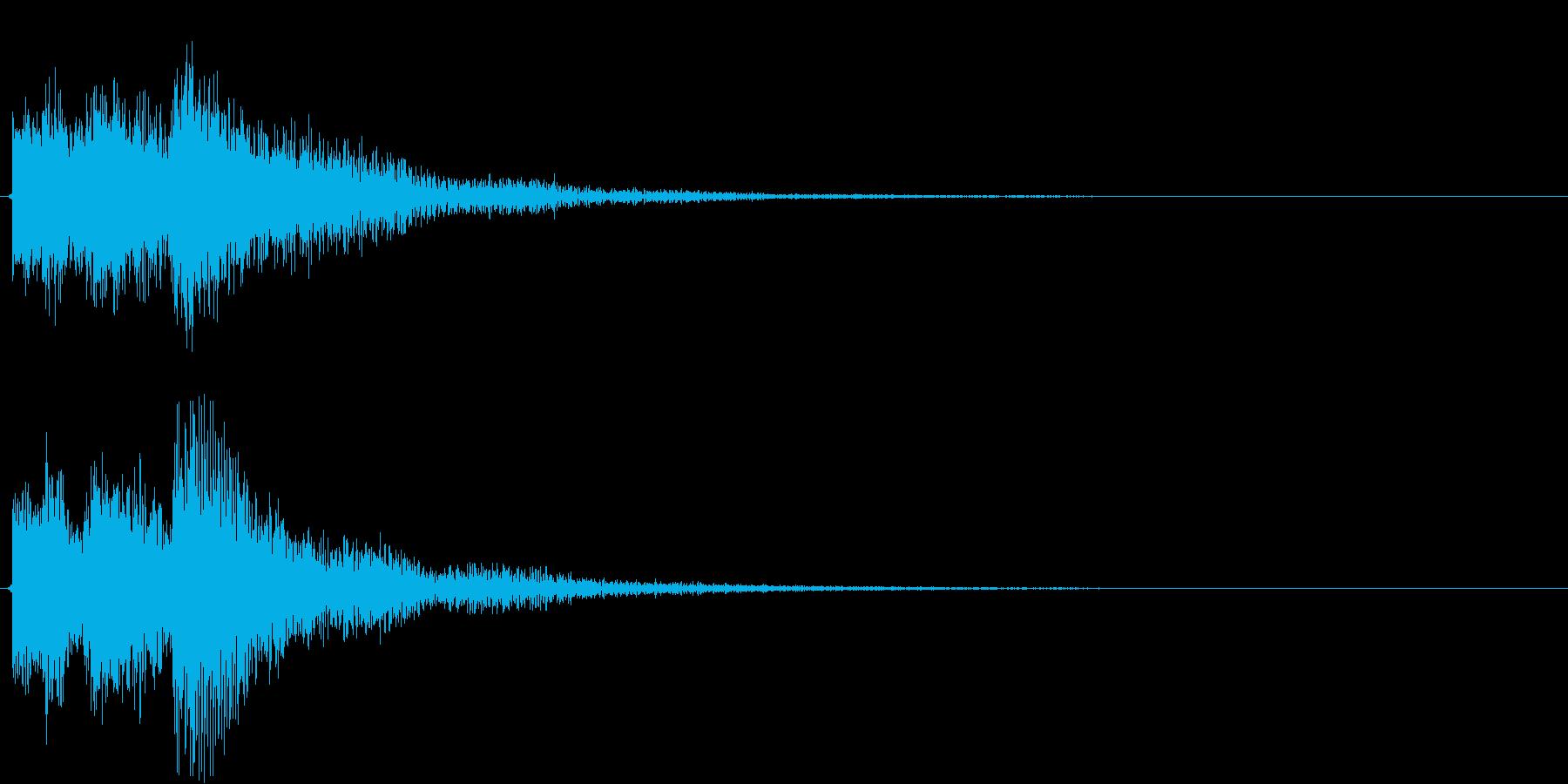 ゲーム、クイズ(不正解)_007の再生済みの波形