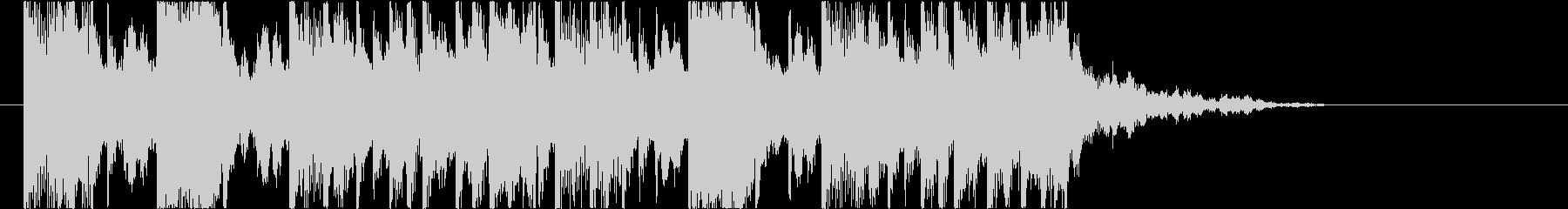 【南国効果音】のどがカラカラの未再生の波形