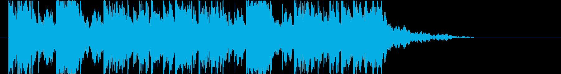 【南国効果音】のどがカラカラの再生済みの波形