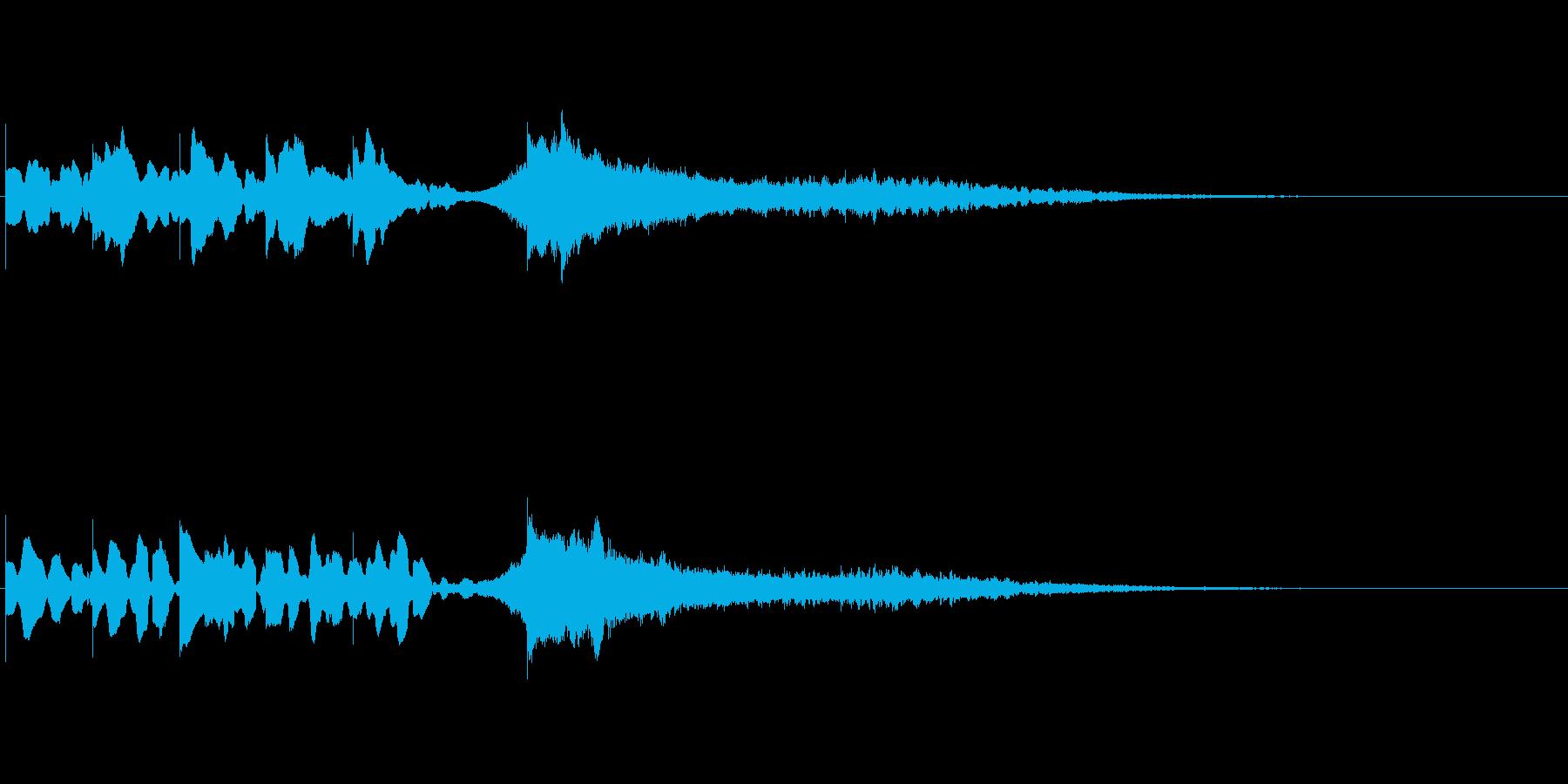 爽やかサウンドロゴ_ベル系シンセ_03の再生済みの波形