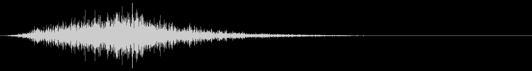 シューッという音EC07_90_1 2の未再生の波形