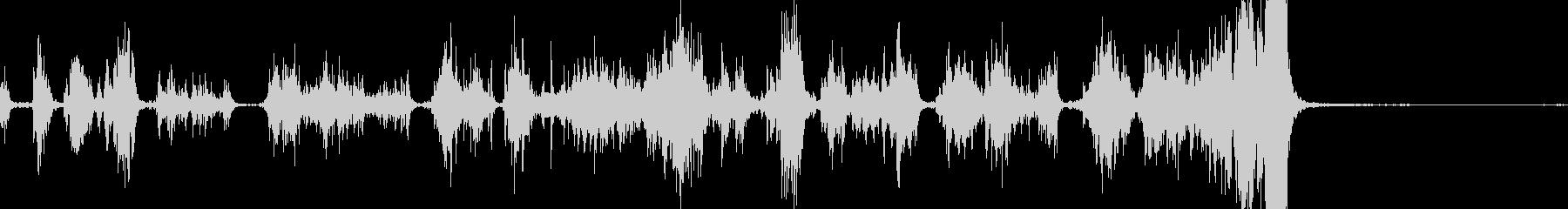 メタルスクレープ;ざらざらしたセメ...の未再生の波形